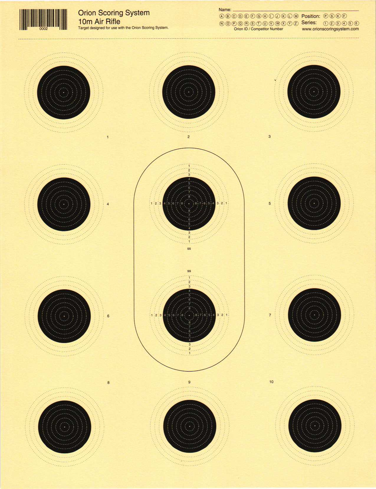 how to make air rifle targets